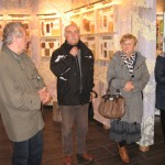 """Na wystawie """"Ochrona lasu"""" – 1-wszy z lewej strony Jan Suder"""