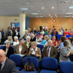 Ostrów wlkp -22.10.2014 konferencja nt. Obywatelskiego Parlamentu Seniorów